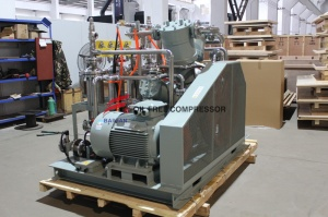 Compressor industrial silencioso a laser CO2